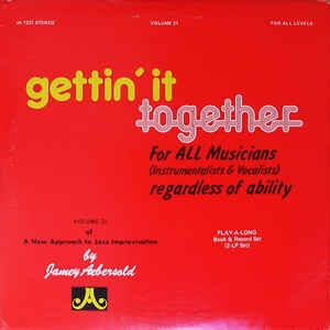 Jamey Aebersold - Gettin' It Together - US