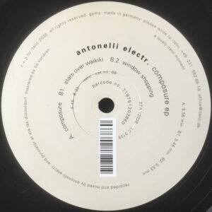 Antonelli Electr. – Composure EP - 2000