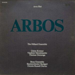 Arvo Pärt - Hilliard Ensemble