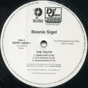 Beanie Sigel – The Truth - 2000