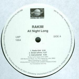 Rakim – All Night Long / Uplift - 2000