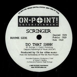 Ralph Scringer – Thatz My Word / Do That Shhh - 2000