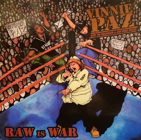 Vinnie Paz – Raw Is War / Language Is Fatal - 2000