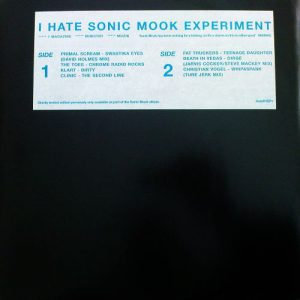 Various – I Hate Sonic Mook Experiment EP1 -