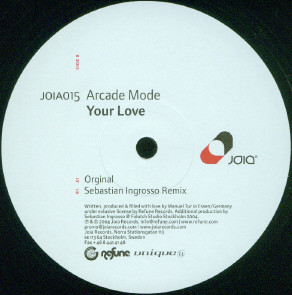 Arcade Mode – Your Love - 2004