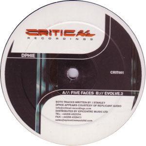 Dphie – Five Faces / Evolve.2 - 2002