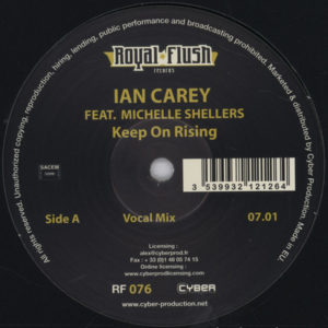 Ian Carey Feat. Michelle Shellers – Keep On Rising - 2007