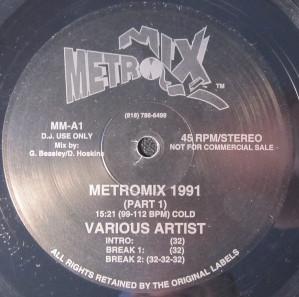 Various – Metromix 1991 - 1991