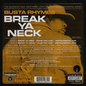 Busta Rhymes – Break Ya Neck - 2001